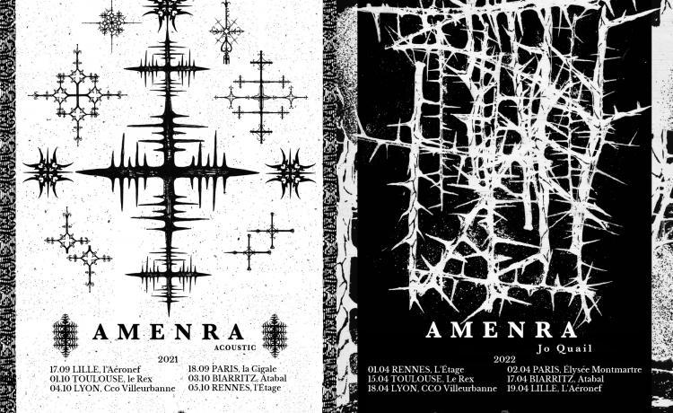AMENRA reporte sa tournée mais propose à la place des dates acoustiques