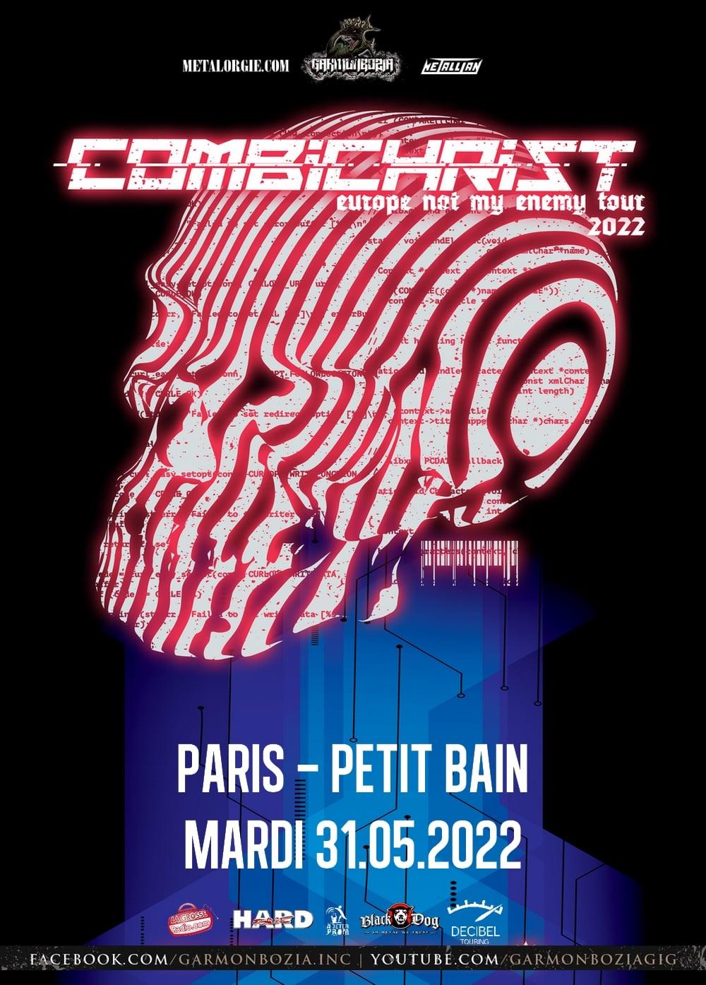 Combichrist @ Petit Bain (Paris) - 31 mai 2022