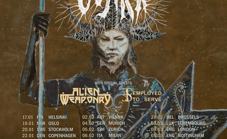 GOJIRA annonce sa tournée européenne