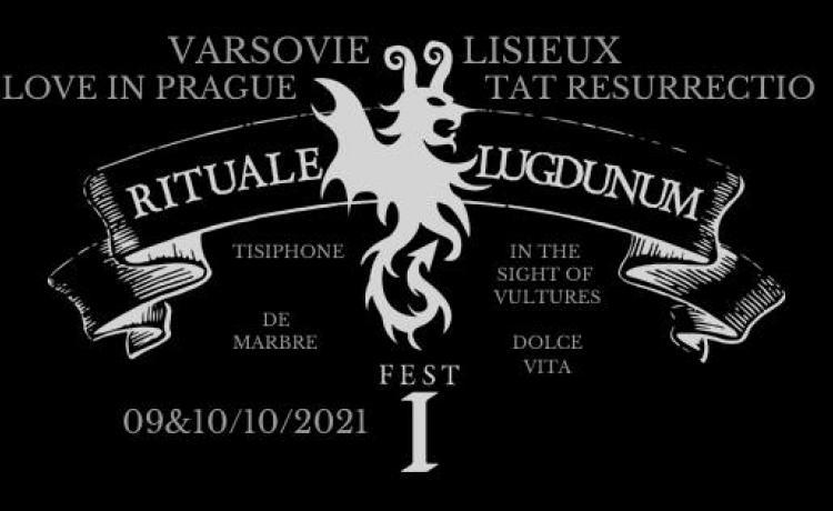 RITUALE LUGDUNUM FEST I, deux soirs de festival pour les musiques sombres à Lyon