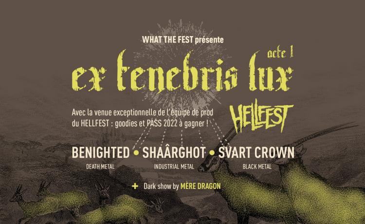 Le Festival Ex Tenebris Lux 2021 vous invite au cœur des cultures divergentes