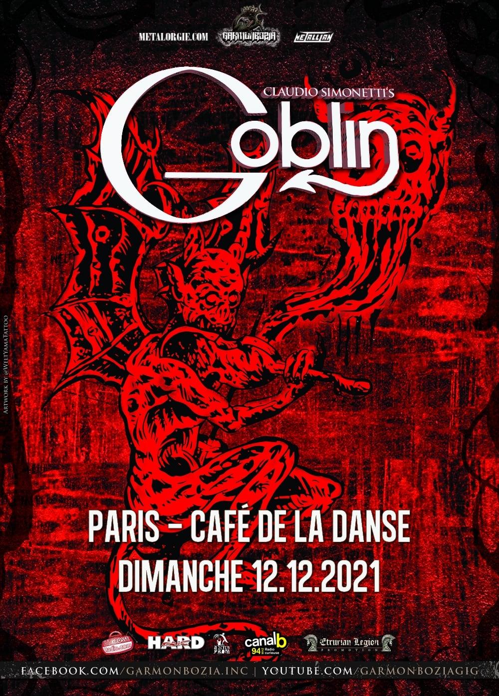 Claudio Simonetti's Goblin @ Café de la Danse (Paris) - 12 décembre 2021